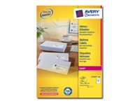 Image of Avery - address labels - 1400 label(s)