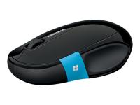 Microsoft Sculpt Comfort Mouse - souris - Bluetooth - noir