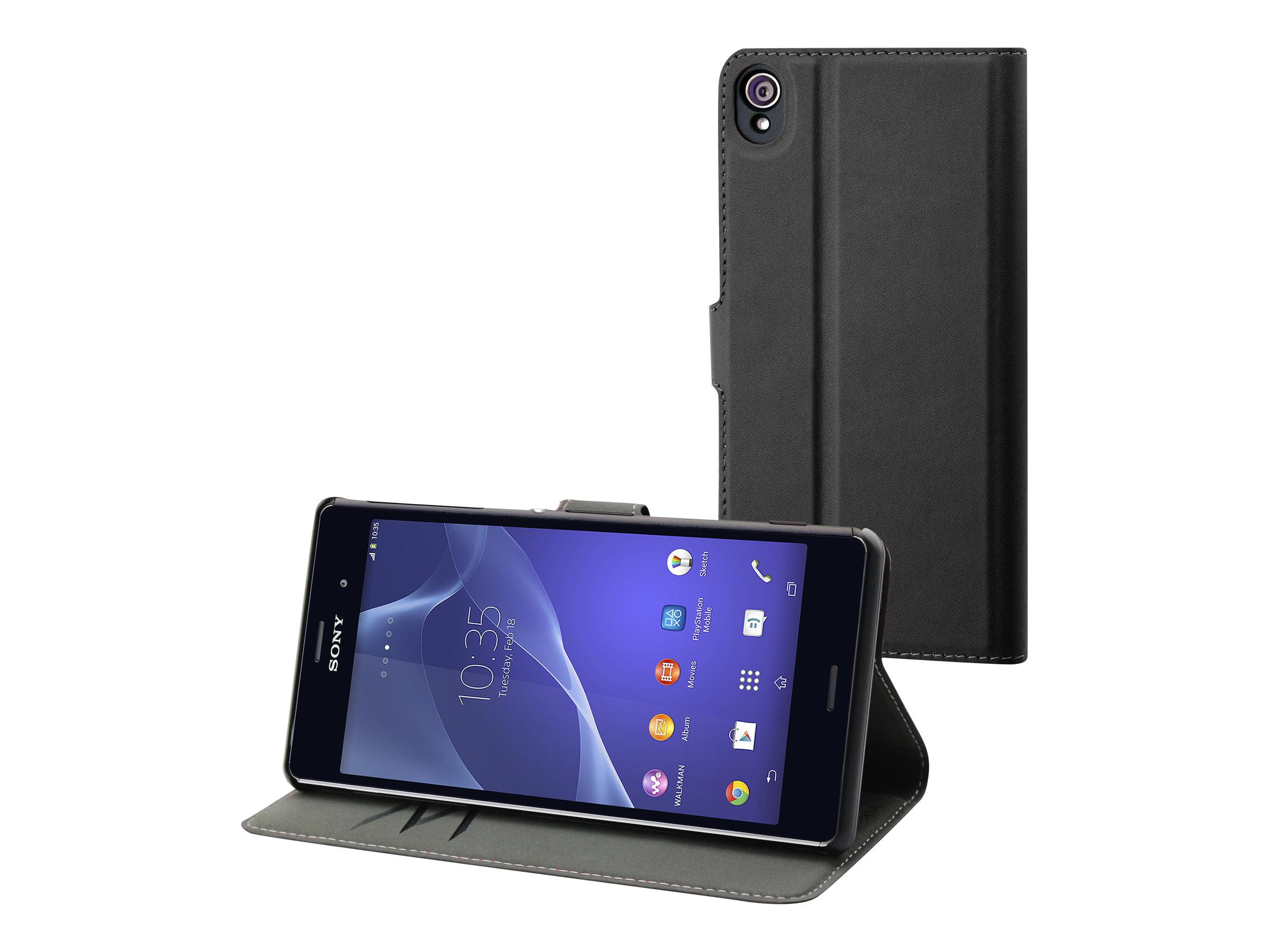 Muvit MFX Wallet Folio protection à rabat pour téléphone portable