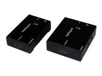 StarTech.com Extendeur HDMI sur Cat5e / 6 - Extender HDMI RJ45 - Power over Câble - Transmetteur Recepteur HDMI sur Ethernet 70m