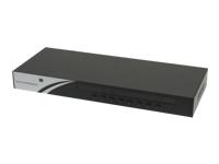 "Cuc VGA USB/ PS2 Combo 19"" Rackmount KVM Switch - commutateur KVM - 8 ports - Montable sur rack"