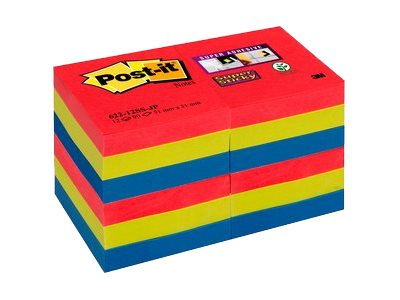 Post-it Super Sticky Bora Bora 622-12SS-JP - notes repositionnables
