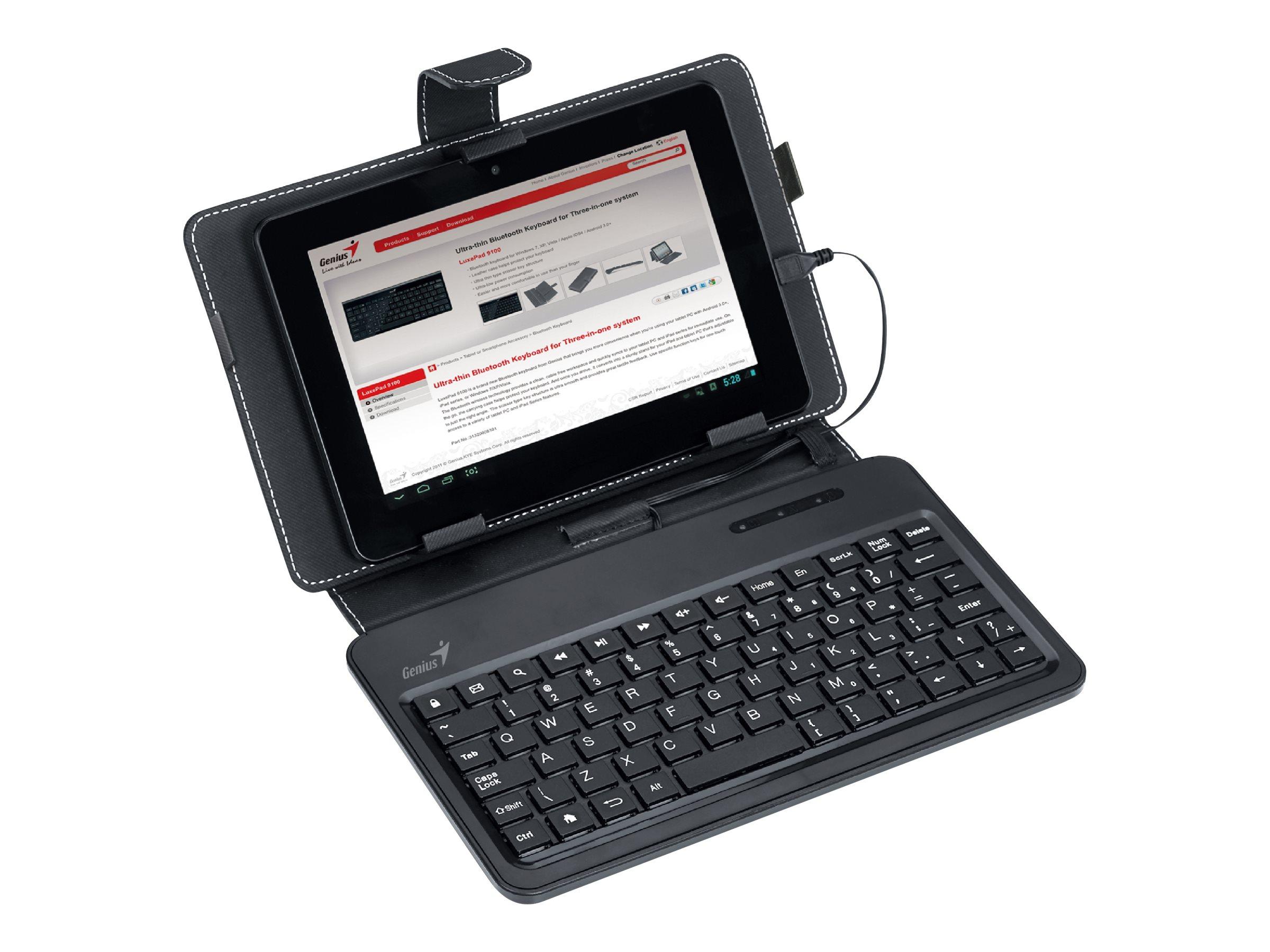 Genius LuxePad A120 - clavier et étui - France