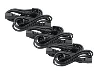 APC Power Cord Kit (6 ea) C19 to C20 (90 degree) 1.8m