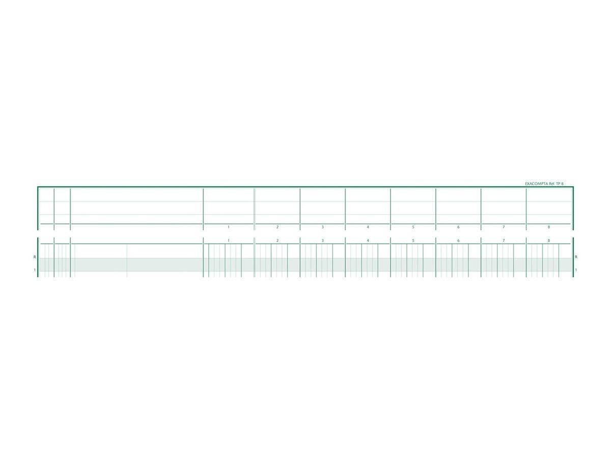 Exacompta TP8 - piqûre comptable à tête paresseuse