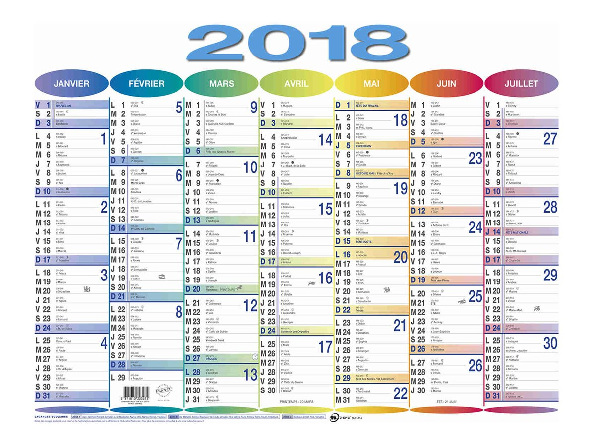 RAYNARD BANQUE - Calendrier - 430 x 335 mm