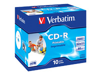 Verbatim - CD-R x 10 - 700 Mo - support de stockage