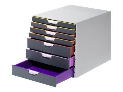 DURABLE VARICOLOR 7 - bloc de classement à tiroirs
