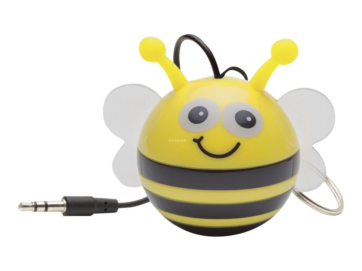 KitSound Mini Buddy Bee - haut-parleur - pour utilisation mobile