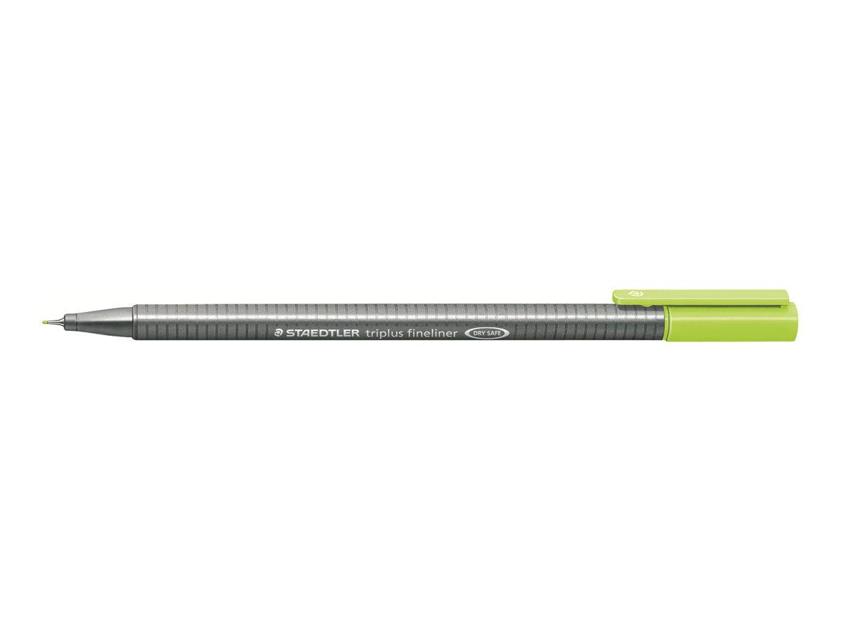 STAEDTLER triplus - Feutre fin - vert citron - 0.3 mm - très fin