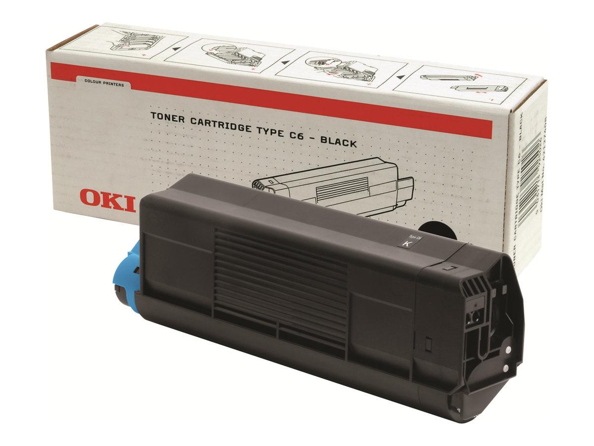 OKI - Noir - 42127408 - cartouche de toner
