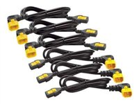 APC Power Cord Kit (6 ea) Locking C13 to C14 (90 Degree) 1.2m