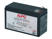 APC Replacement Battery Cartridge #17 OEM UPS-batteri 1 x Blysyre sort