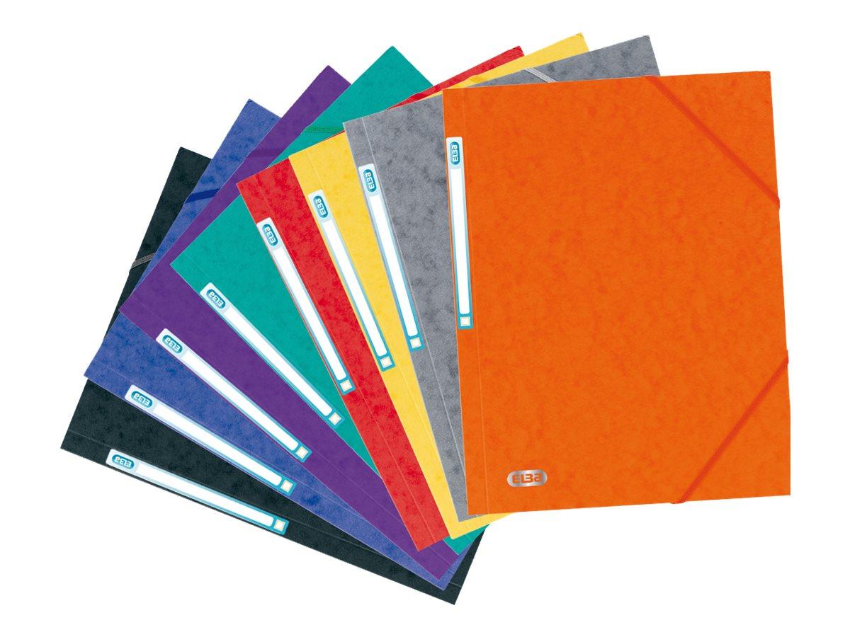 ELBA Eurofolio - Chemise à 3 rabats - A4 - disponible dans différentes couleurs