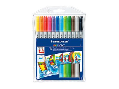 STAEDTLER Noris Club 320 - Feutres - Double pointe