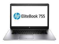 """HP EliteBook 755 G3 - 15.6"""" - série A A12 PRO-8800B - 4 Go RAM - 500 Go HDD"""