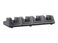 Zebra 4 Slot Ethernet/Charging Cradle - Docking cradle - Ethernet - 10Mb LAN - for Omnii XT15, XT15F, XT15F CHILLER, XT15ni; Omnii XT15, XT15f, XT15f Arctic