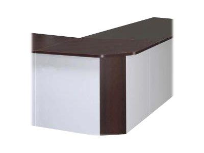 Burocean LUMEA - Bureau de réceptioniste - 140 cm - différentes couleurs disponibles