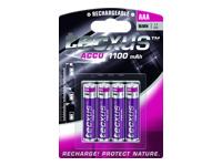 tecxus Batteri AAA type NiMH ( rechargeable ) 1100 mAh