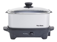West Bend 5 Qt. Oblong Slow Cooker (84905)