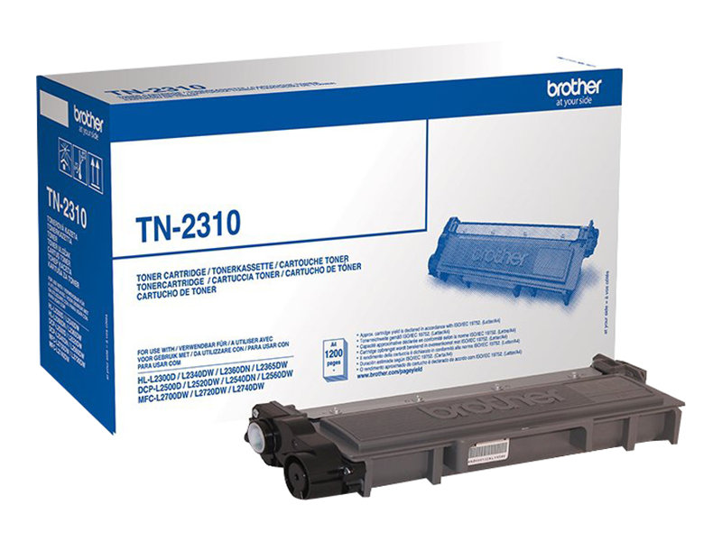 Brother TN2310 - noir - original - cartouche de toner