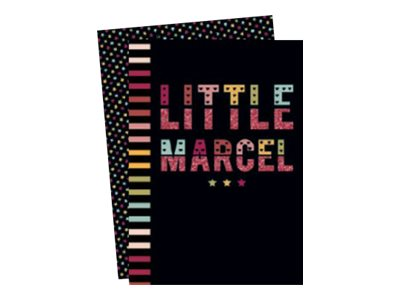 Clairefontaine Little Marcel - Cahier - 11 x 17 cm - 96 pages - gradué - assortiment de couleurs