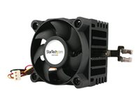 StarTech.com 50x41mm Socket 7/370 CPU Cooler Fan w/ Heatsink and TX3 and LP4