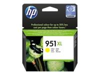 HP 951XL - à rendement élevé - jaune - originale - Officejet - cartouche d'encre