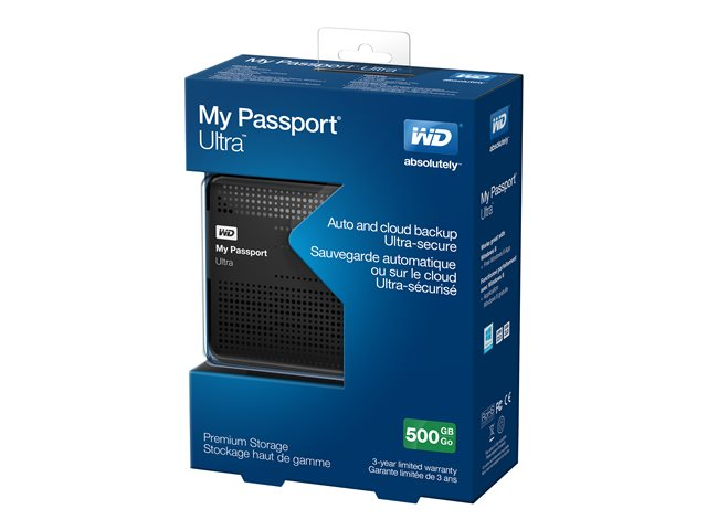 WD My Passport Ultra WDBPGC5000ABK