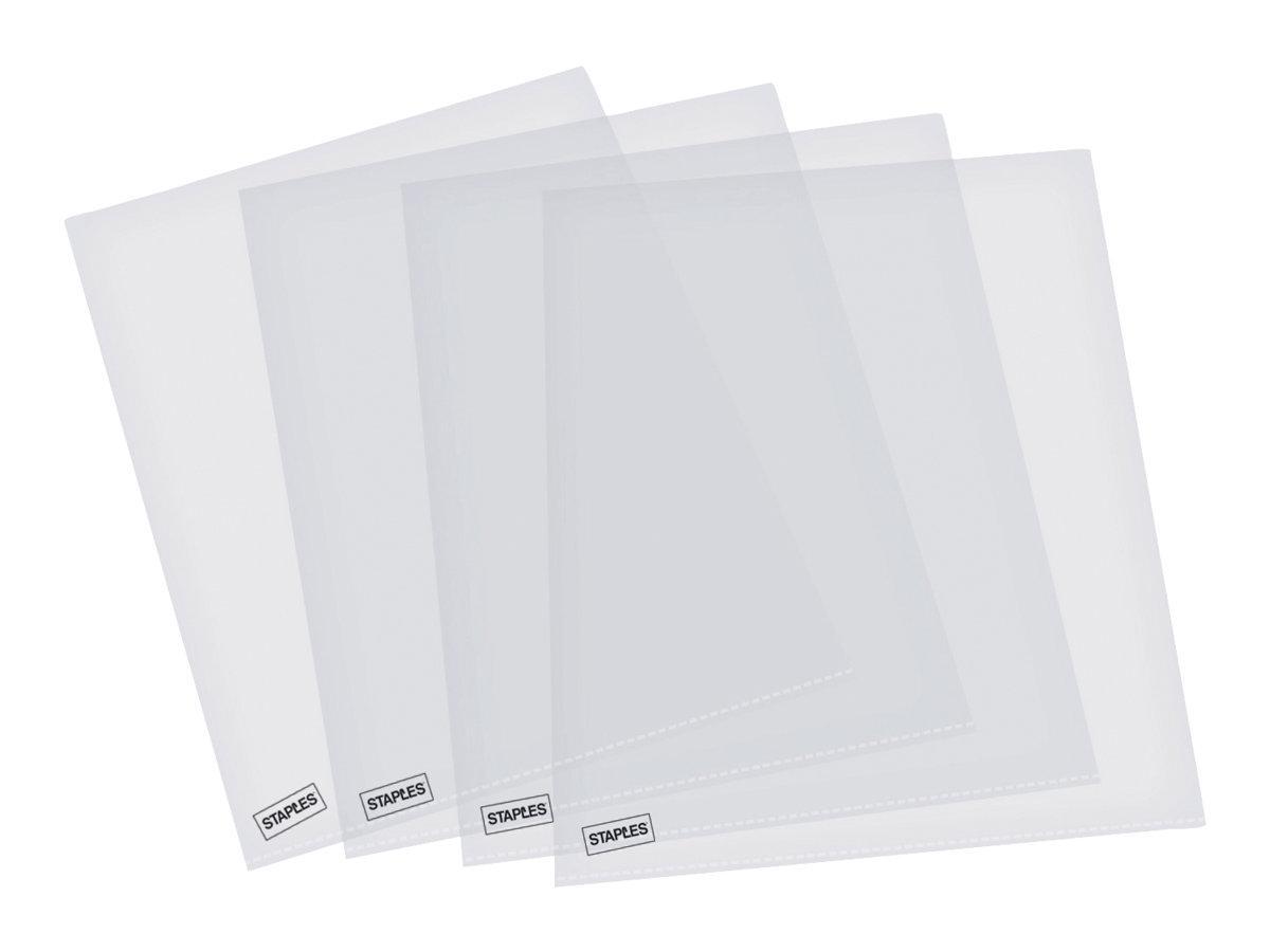 ELBA - 10 Pochette perforées - A4 - cristal