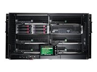 HPE BLc3000 Enclosure w/4 Power Supplies and 6 Fans with Insight Control Environment Trial License