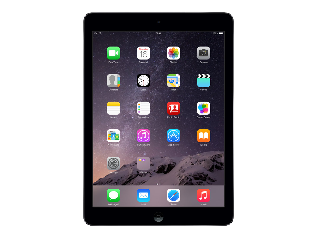 apple ipad air wi fi tablette 16 go 9 7 tablettes tactiles. Black Bedroom Furniture Sets. Home Design Ideas