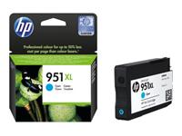 HP 951XL - à rendement élevé - cyan - originale - cartouche d'encre
