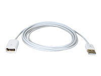QVS USB Power Charger & Sync Extension Cable for iPod/iPhone/iPad
