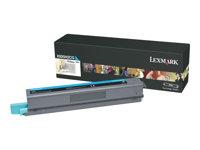 LEXMARK, Toner/cyan 7500sh f X925