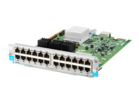 HPE - Expansion module - Gigabit Ethernet x 24 - for HPE Aruba 5406R, 5406R 16, 5406R 44, 5406R 8-port, 5406R zl2, 5412R, 5412R 92, 5412R zl2