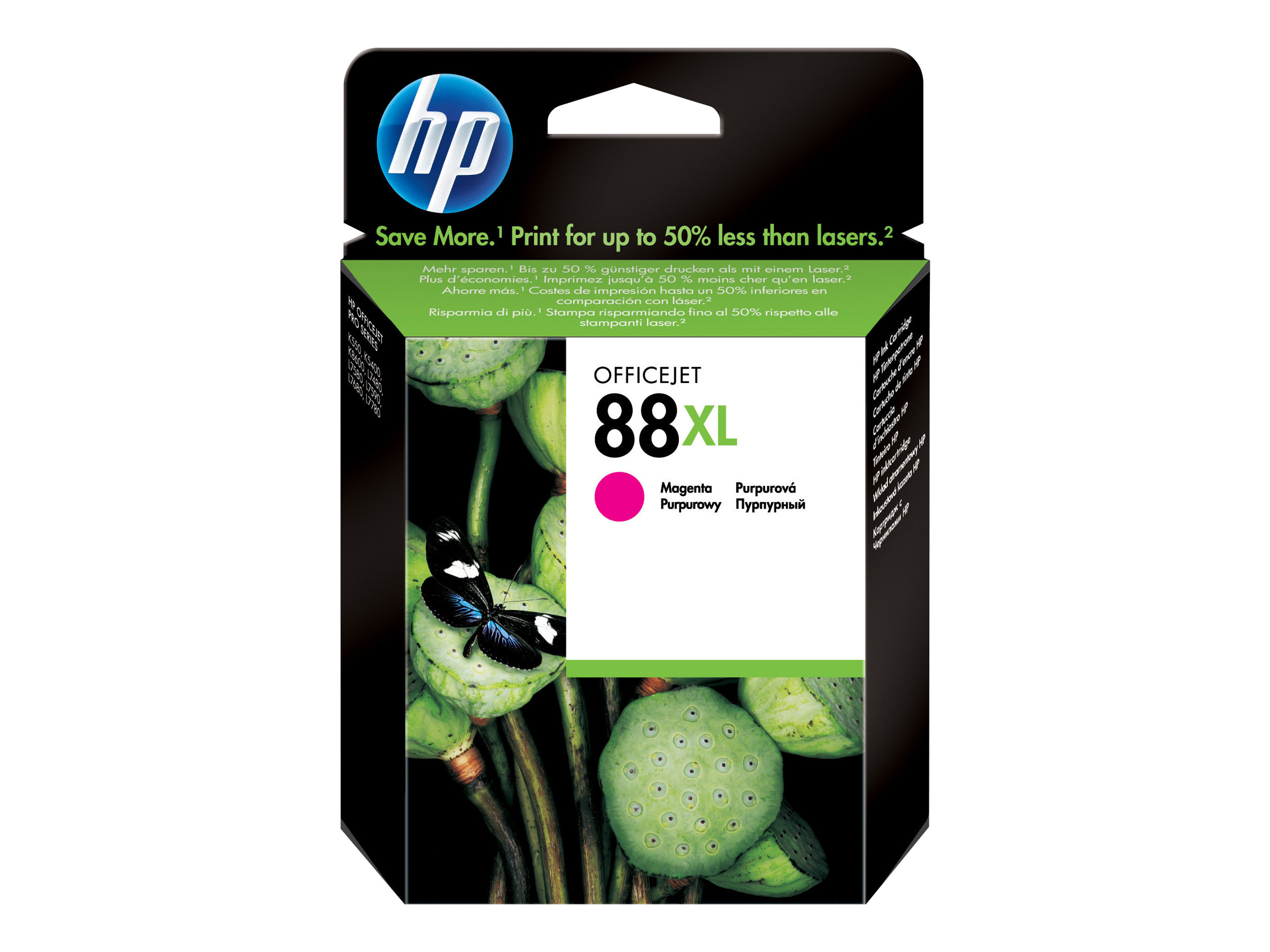 HP 88XL - à rendement élevé - magenta - originale - cartouche d'encre
