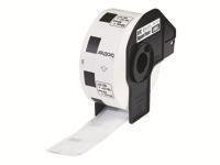 Brother DK-11221 Sort på hvid 23 x 23 mm 1000 etikette(r) etiketter