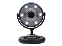 Gear Head Quick WebCam with Night Vision WC1100BLU