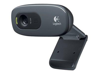 Logitech HD Webcam C270 - Webová kamera - barevný - 1280 x 720 - audio - USB 2.0