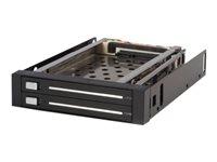 """StarTech.com Rack Amovible 3.5"""" sans Tiroir pour 2 Disques Durs 2.5"""" - Face Arriere 3.5 pouces"""