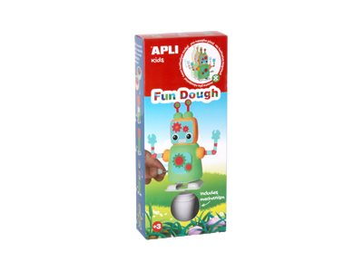 APLI kids Fun Dough Robots - kit de pâte à modeler