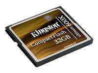 Kingston Ultimate - carte mémoire flash - 32 Go - CompactFlash