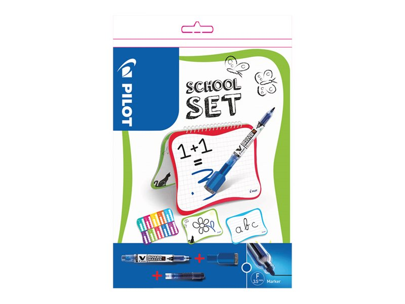 Pilot V-Board Master S School Set - Begreen - tableau blanc