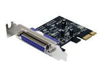 STARTECH - CARDS/HUBS/ADAPTER StarTech.com 1 Port PCI Express Low Profile Parallel Adapter CardPEX1PLP