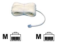 MCL Samar câble de téléphone - 3 m