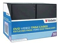 Verbatim 50Pk Cd Dvd Vid Stor Trimcase