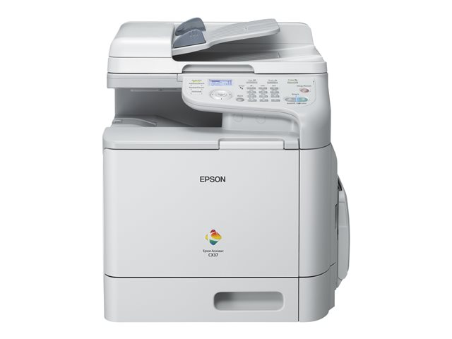 Image of Epson AcuLaser CX37DNF - multifunction printer ( colour )