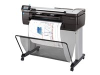 "HP DesignJet T830 - 24"" multifunction printer - color"