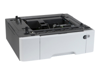 Lexmark Duo Tray With MPF - bac d'alimentation - 650 feuilles